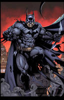 Batman by Nar by juan7fernandez