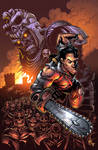 Army of Darkness 3 Pin-up