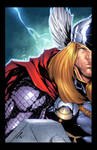 Thor by Adelso Corona