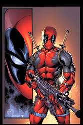 another FUN Deadpool by juan7fernandez