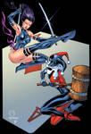 Harly Quinn VS Psylocke