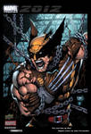 Wolverine trading card