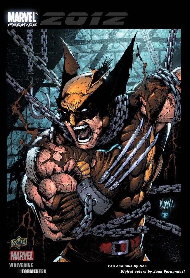 Wolverine trading card by juan7fernandez
