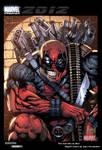 Deadpool trading card