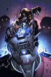 Wolverine Vs Sentinels by juan7fernandez