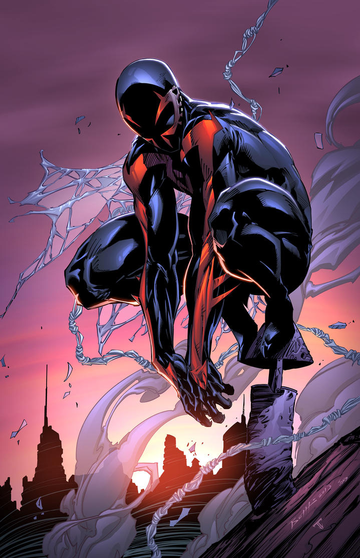 Spiderman 2099 by juan7fernandez