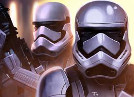 Episode VII Stormtrooper v03 by juan7fernandez