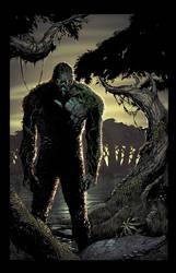 Swamp Thing by juan7fernandez