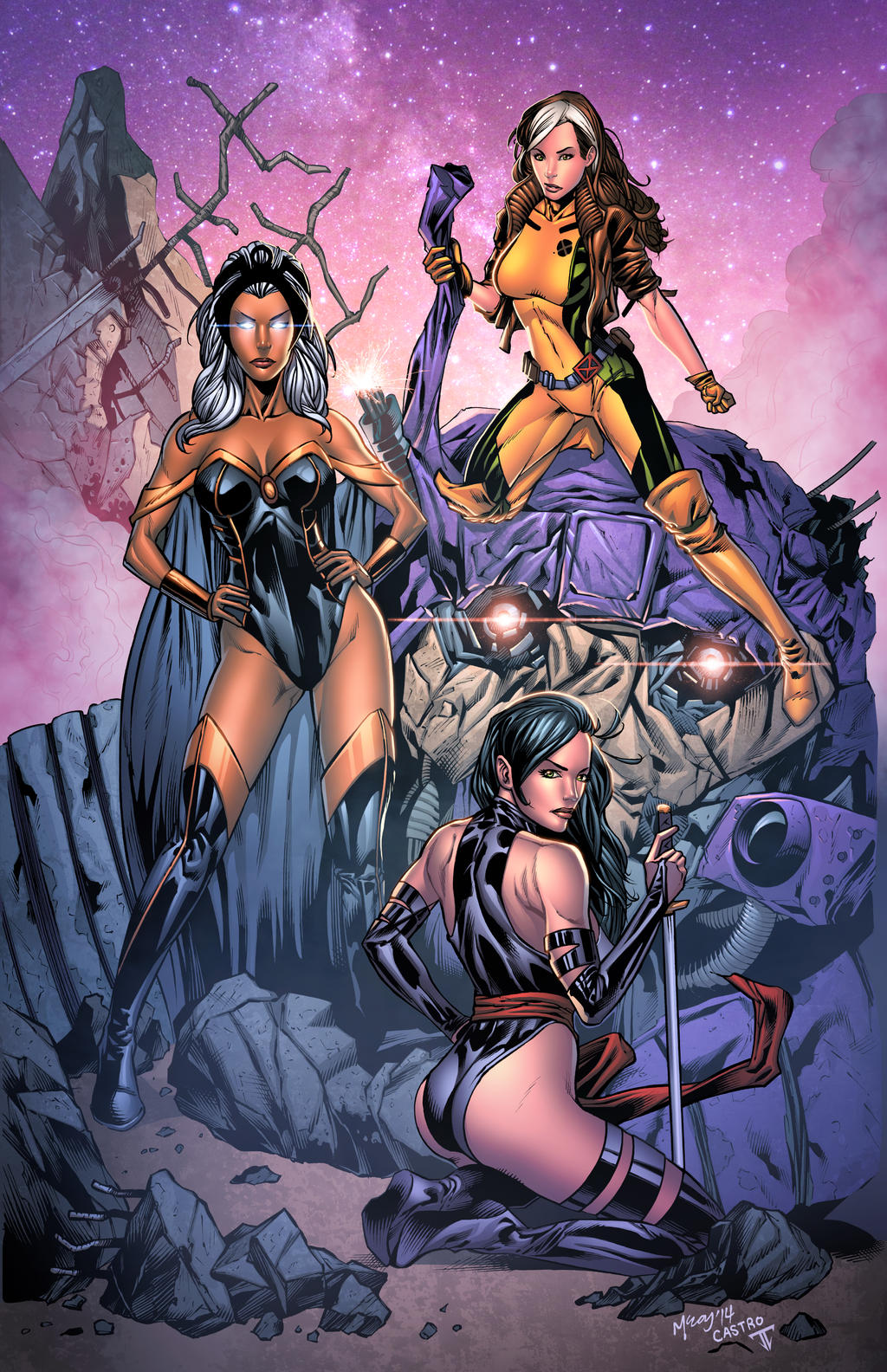 X Girls By Juan7fernandez On Deviantart