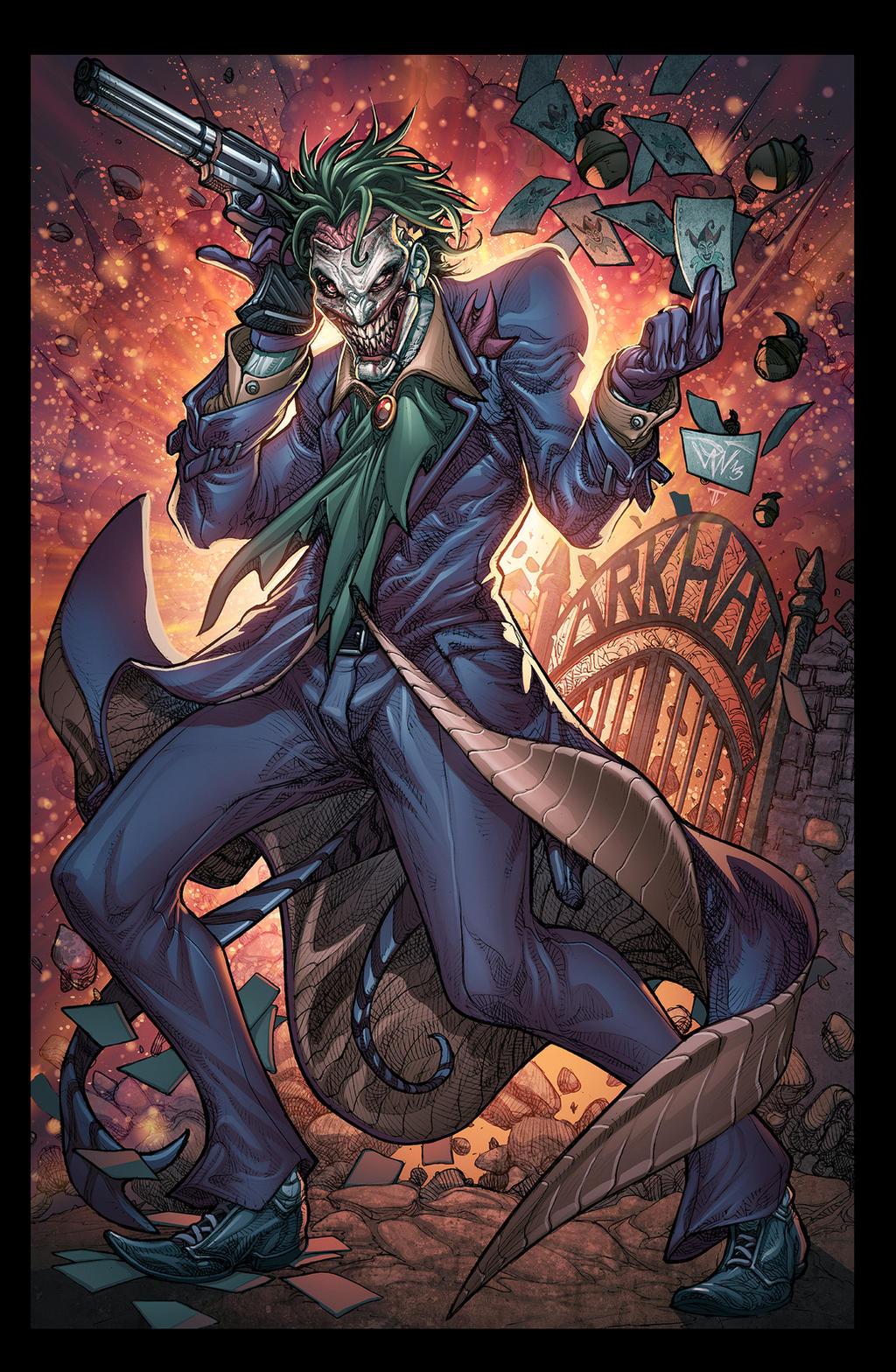http://fc06.deviantart.net/fs70/i/2014/338/d/b/the_joker_by_juan7fernandez-d88oprv.jpg Comic Joker Painting