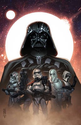 Lord Vader and his troops