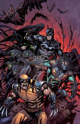 Batman The Darkness Wolverine