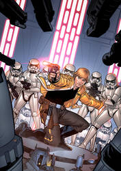 Luke and the troopers