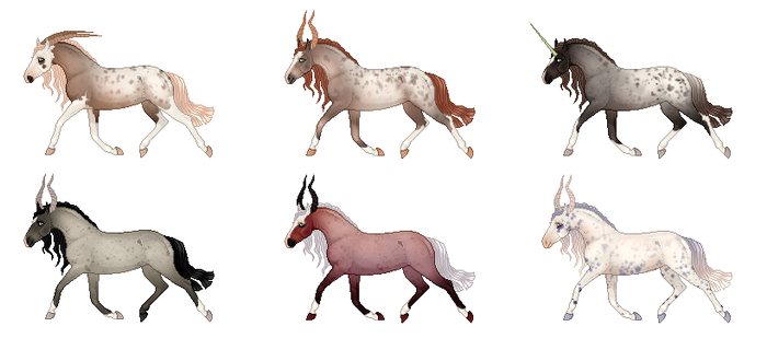 Equine Adoptables -05- || OPEN - REDUCED