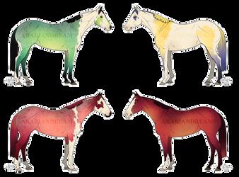 Equine Adoptables -15- || OPEN