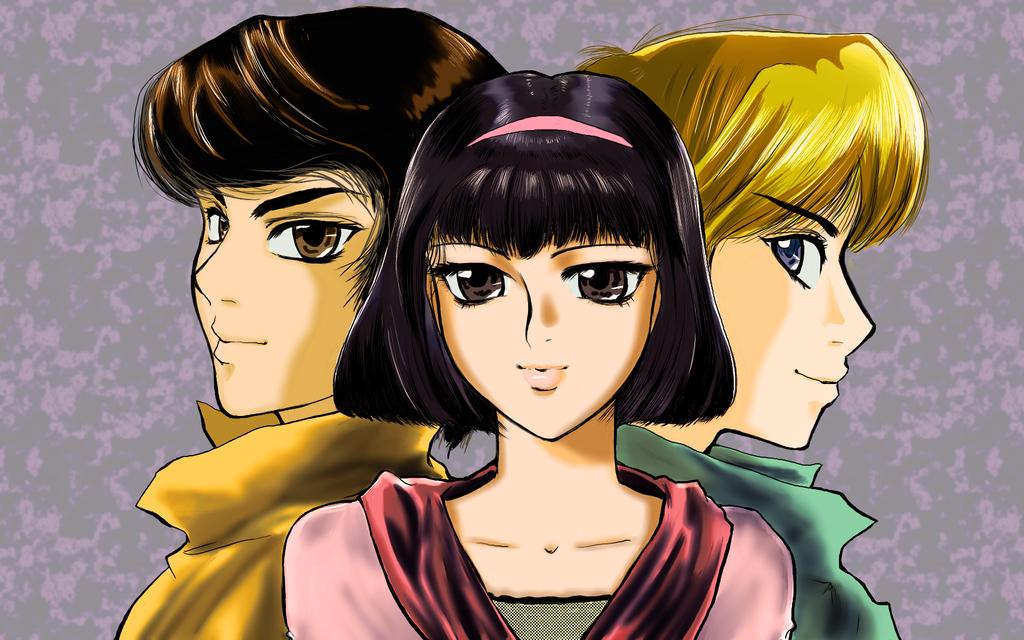 Yoko Tsuno Trio by Yoko-Higashi
