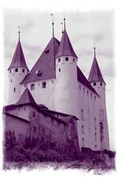 Schloss Thun violet