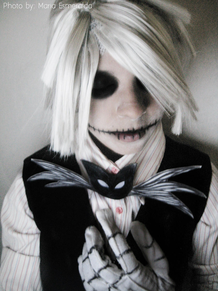 Jack Skellington cosplay Test by haozeke93