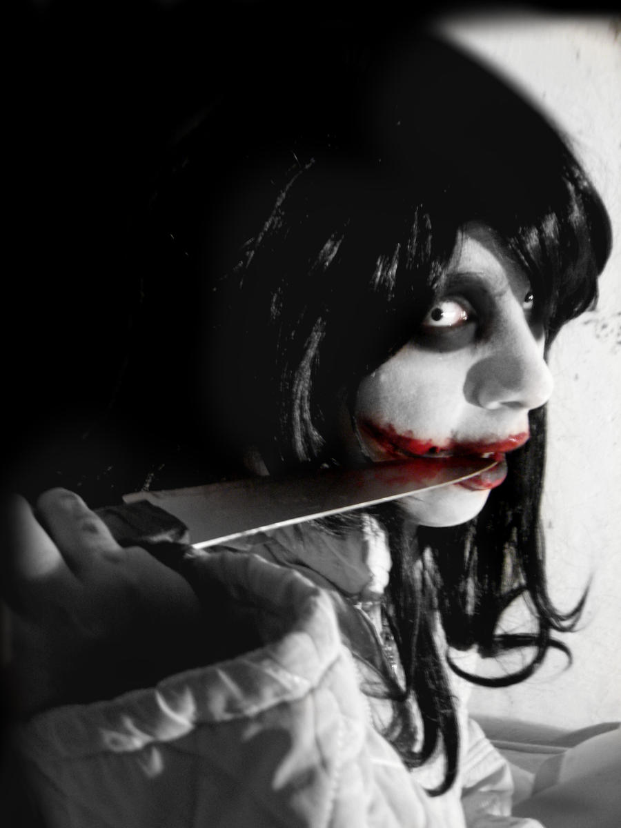 jeff the killer cosplay im beautiful now by haozeke93