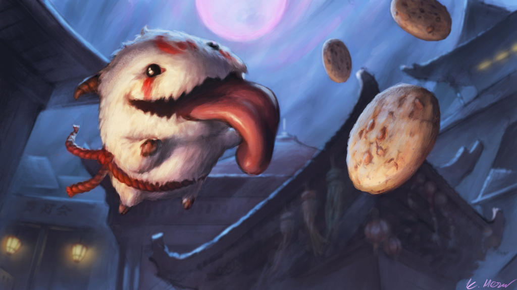 Bloodmoon poro by myques