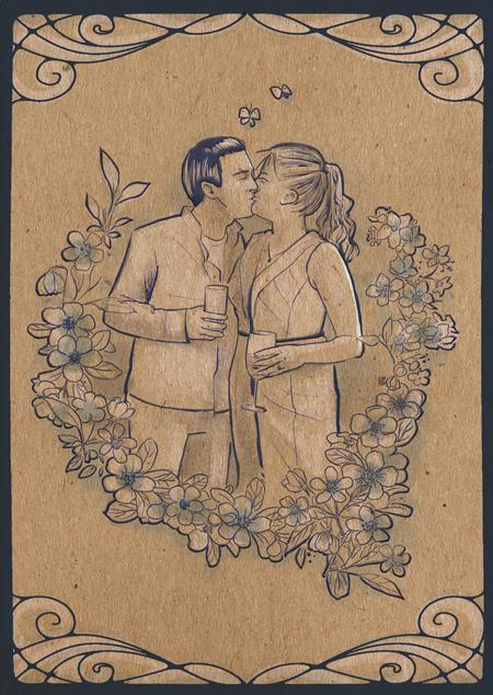 Wedding Card by mayu