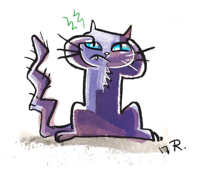 Kitty cat by mayu