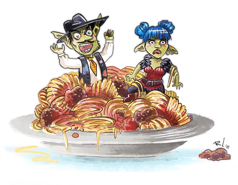 Ma Spagette by mayu