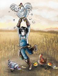 Vivian the Forsaken farmer