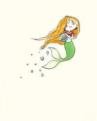Tiny Mermaid by mayu