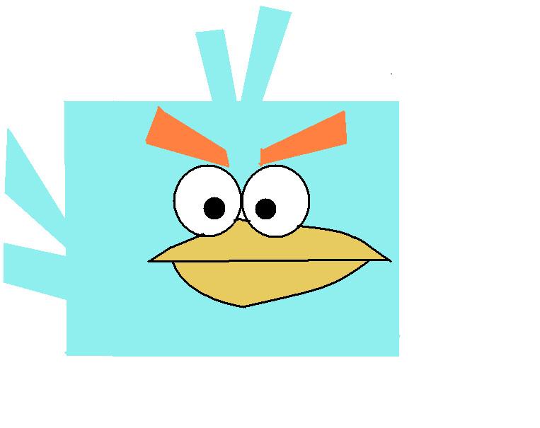 angry birds space ice bird - photo #5