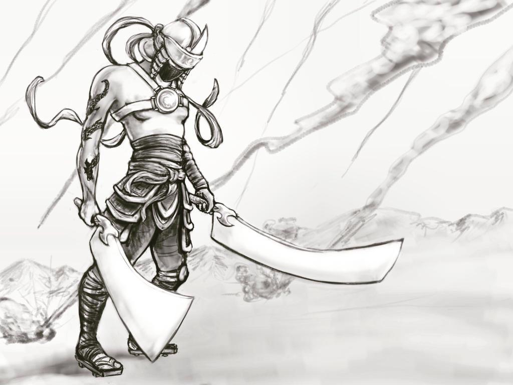 Akashi Samurai  by reesebanke