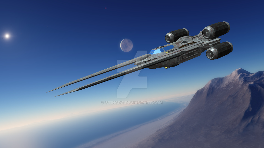 UT-60D U-wing starfighter/support craft by Stingra on DeviantArt