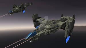 AC-55 Kestral Gunship
