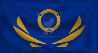 Flag of the Advent-Unity (Alternate) by Stingra