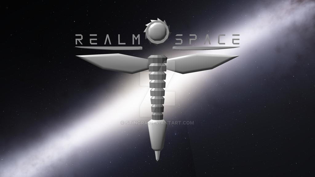 Realm Space WIP Logo by Stingra