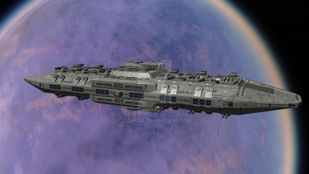 Threshold - Class Orbital Defense Platform by Stingra