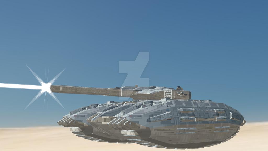 Centaur-IV Rail Tank by Stingra