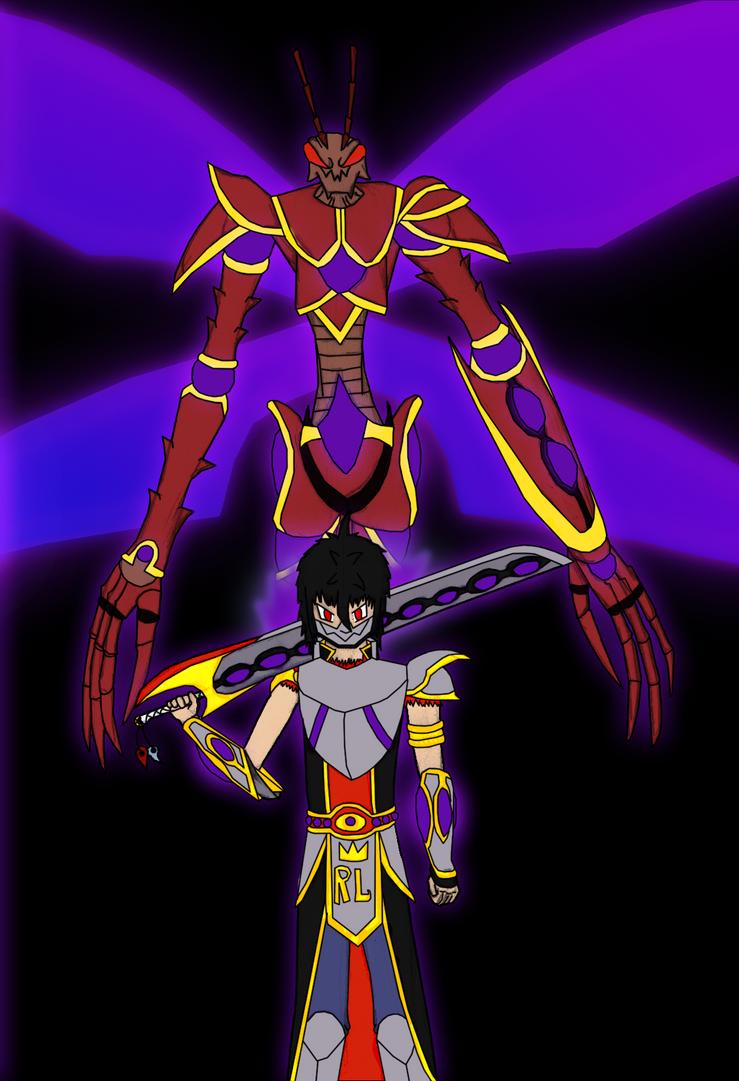 Shade Kaiser Armor by shadeJZ