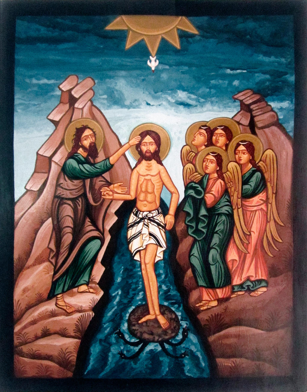 an introduction to the baptism of jesus The baptism of jesus  21 o after all the people had been baptized and jesus also had he has clearly marked this introduction to the ministry of jesus with his.