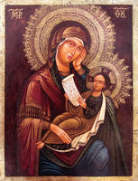 Mary and child by GalleryZograf