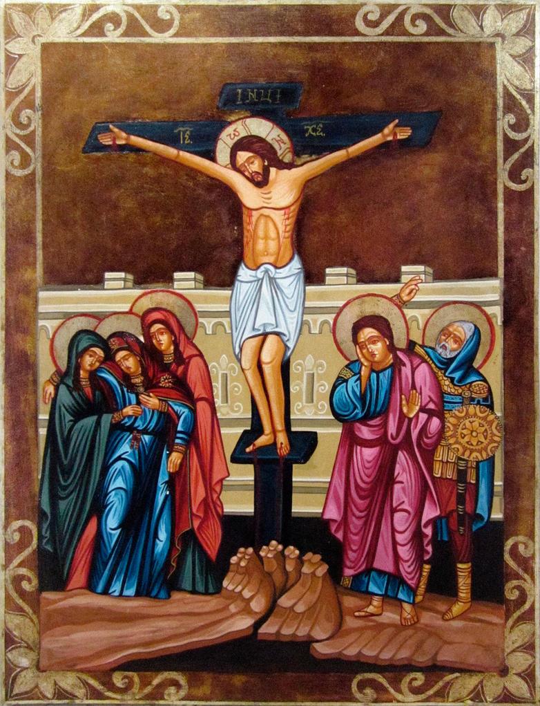crucifixion of jesus by galleryzograf on deviantart