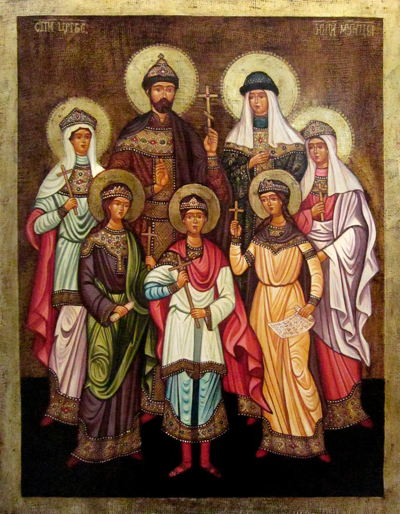 Russia's Royal family by GalleryZograf
