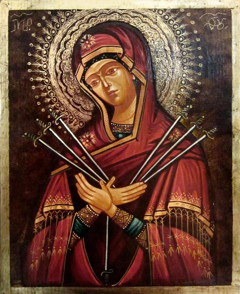 Our Lady of the Seven Sorrows (Semistrelnaya) by GalleryZograf