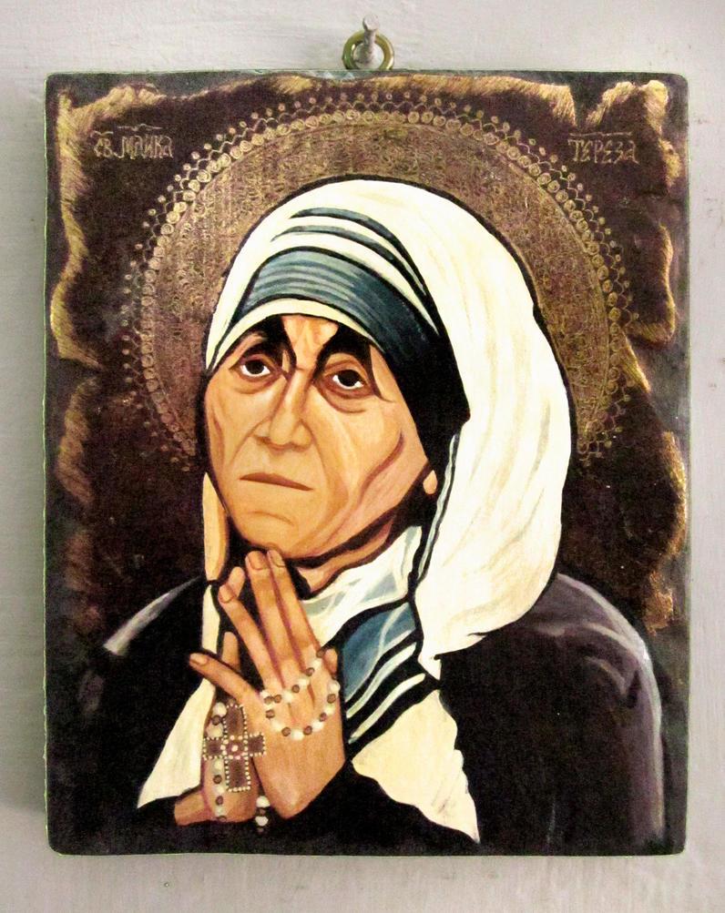 Mother Teresa by GalleryZograf