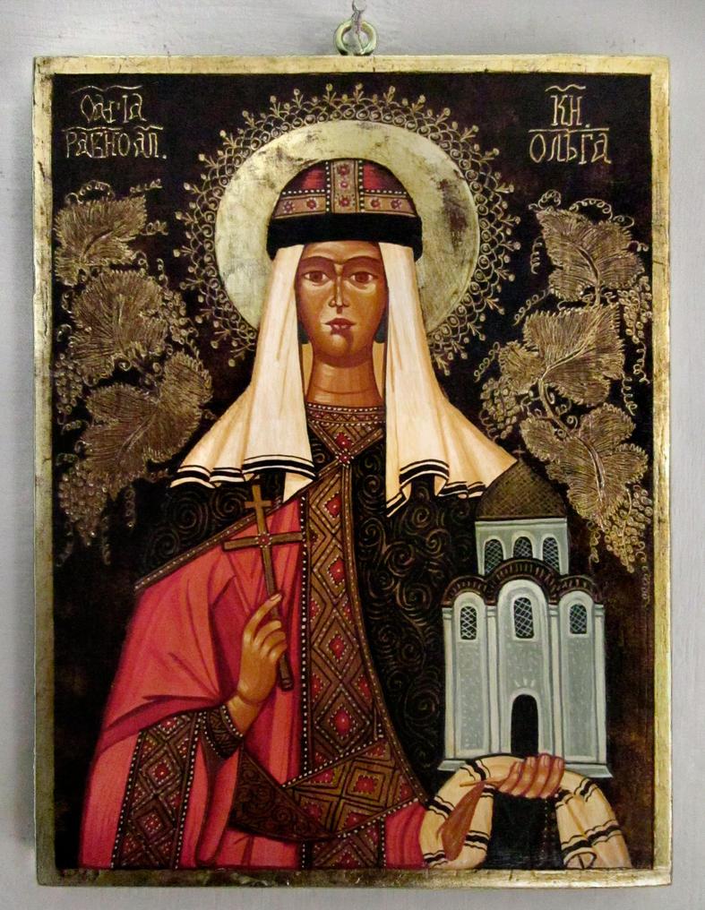 St. Olga of Kiev by GalleryZograf