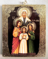 Saint Sophia and daughters: Faith, Hope and Love