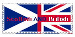 Scottish and British Stamp by qtxadsy