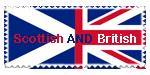 Scottish and British Stamp by qtxadsy