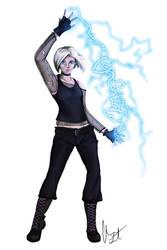 Shadowrun Combat Mage - Juno