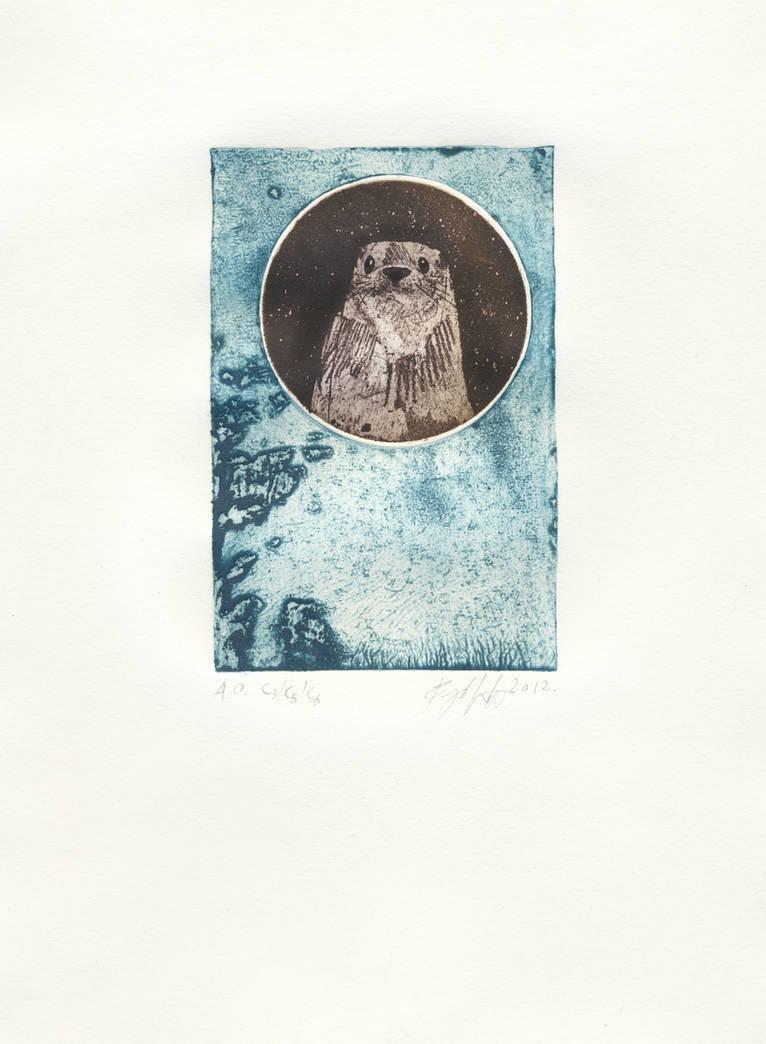 Otter by Vojanik